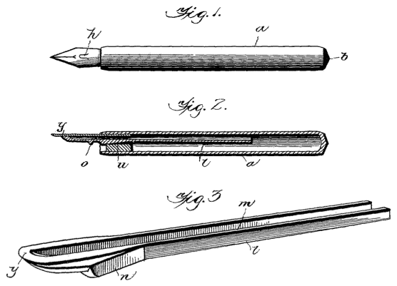 Fountain pen design