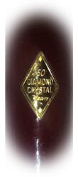 Diamond Crystal Salt inlay