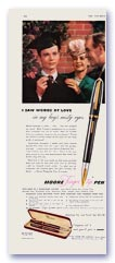 Moore Finger tip advertisement, 1946