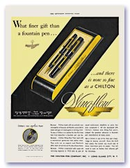 Chilton Wing-flow advertisement, 1935