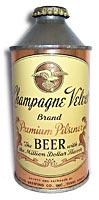 Champagne Velvet beer can