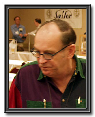 Frank Dubiel at the Ohio Pen Show, November 2003